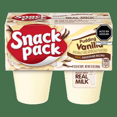 Snack Pack Pudín Vainilla