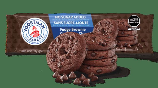 Voortman Fudge Chocolate Chip Sin Azúcar