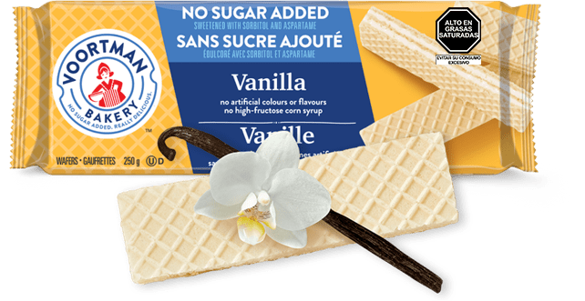 Voortman Wafers Sin Azúcar Vainilla