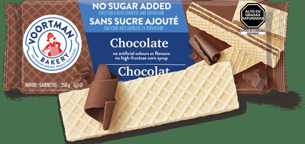 Voortman Wafers Sin Azúcar Chocolate