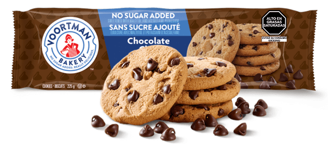 Voortman Chocolate Chip Sin Azúcar