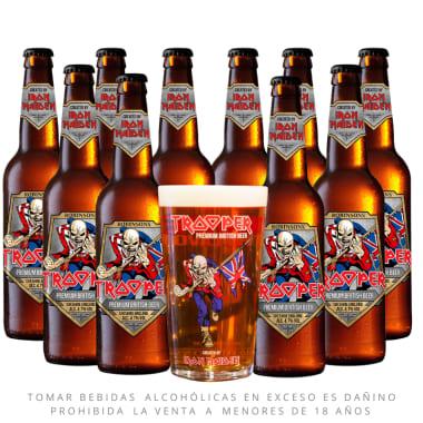 Pack 10 Cerveza Trooper Iron Maiden