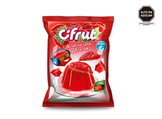 Gelatina Cifrut sabor a Fresa
