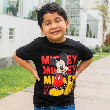POLO NIÑO MC MICKEY MOUSE