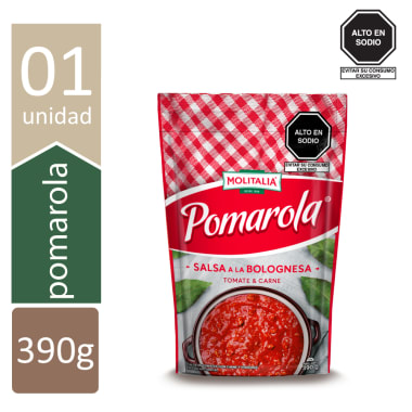 POMAROLA SALSA A LA BOLOGNESA  10X390 GR.