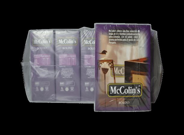Boldo McColins Caja 100 Bolsas