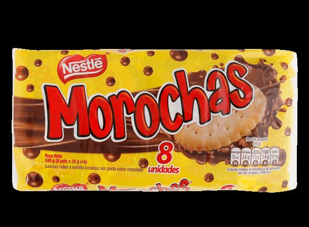 Galleta Morochas Nestle Pack 8x30g