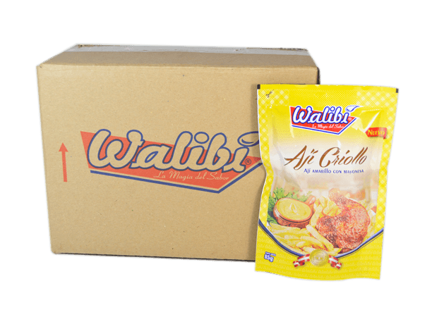Ají Criollo Walibí Caja 12x85g