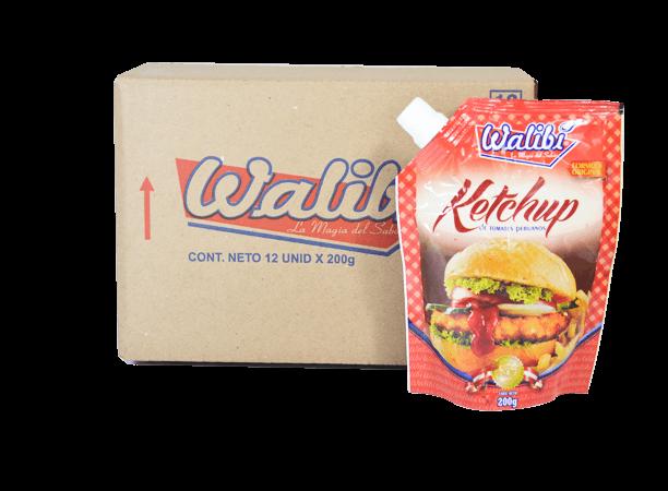 Ketchup Walibí Caja 12x200g