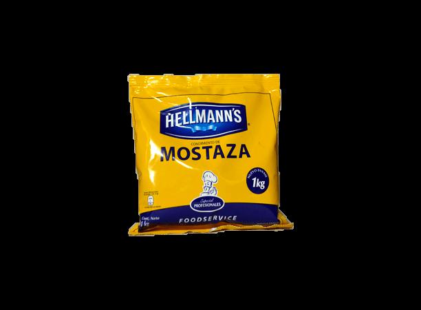 Mostaza Hellmanns Bolsa 1Kg