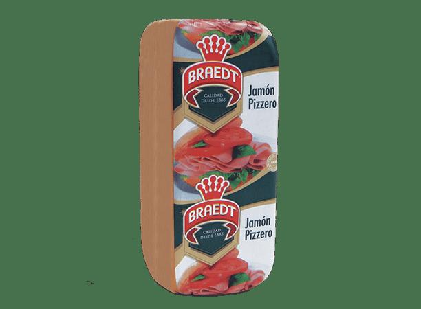 Jamón Pizzero Braedt 3.8kg