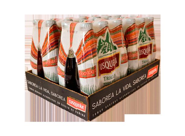 Cerveza Cusqueña Trigo 24x330ml