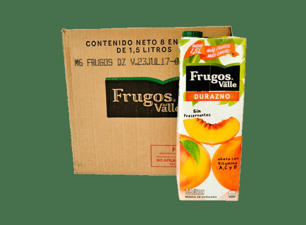 Frugos Durazno 8x1.5L