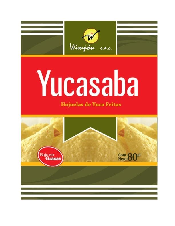 Hojuelas de yuca Yucasaba Sabores Mixtos 80g