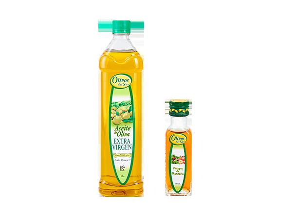 Aceite de Oliva Extra Virgen + Vinagre de Manzana