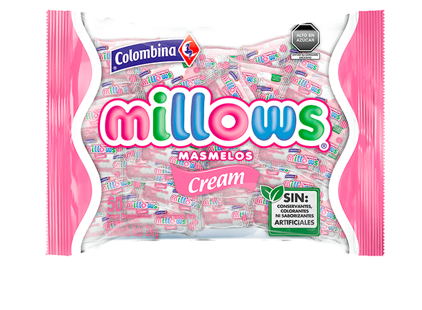 Millows Marshmallows Individual Cream