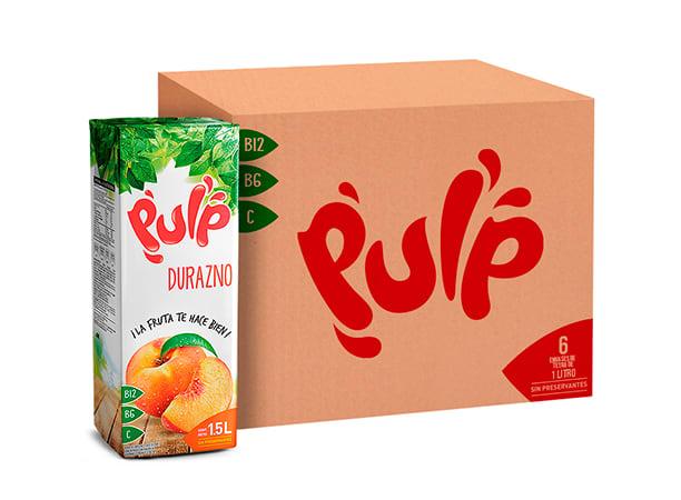 Pulp sabor Durazno 1.5L