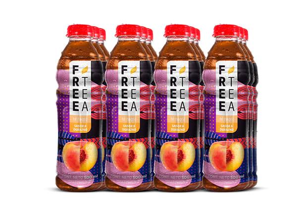 Free Tea Té negro Sabor a Durazno 500ml