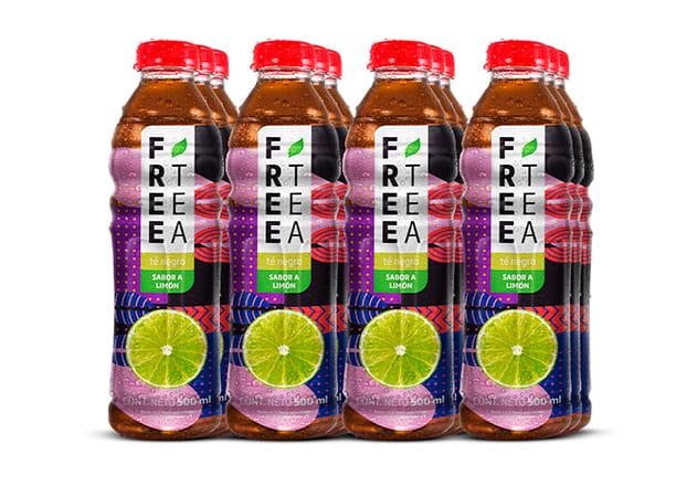 Free Tea Té negro Sabor a Limón 500ml