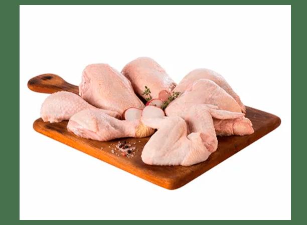 Pollo trozado x 8 pzas S/M