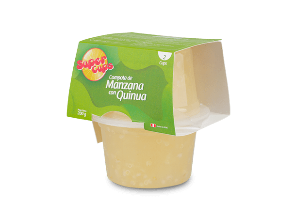 Compota de Manzana con Quinua