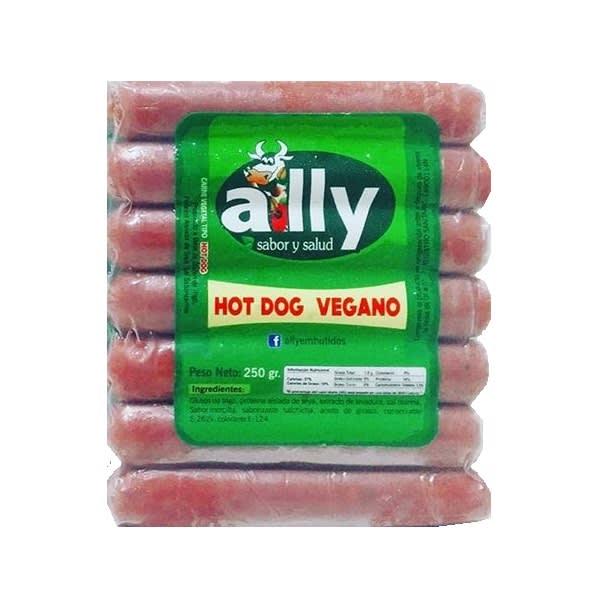 HOT DOG VEGANO 250G ALLY