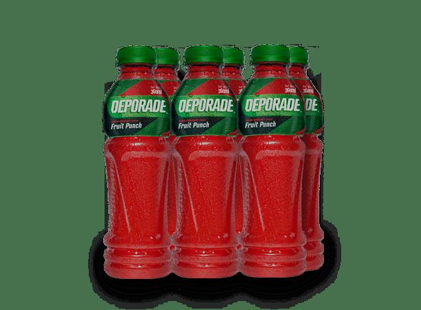 DEPORADE FRUIT PUNCH PET NO RETORNABLE 360 ML 6