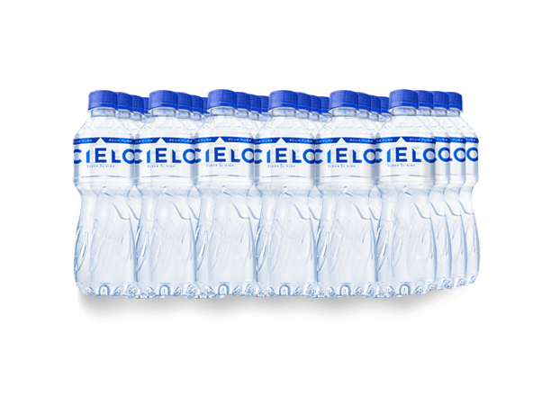 CIELO AGUA SIN GAS PET NO RETORNABLE 375 ml 24 pack