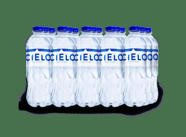 CIELO AGUA SIN GAS PET NO RETORNABLE 625 ml 15 pack