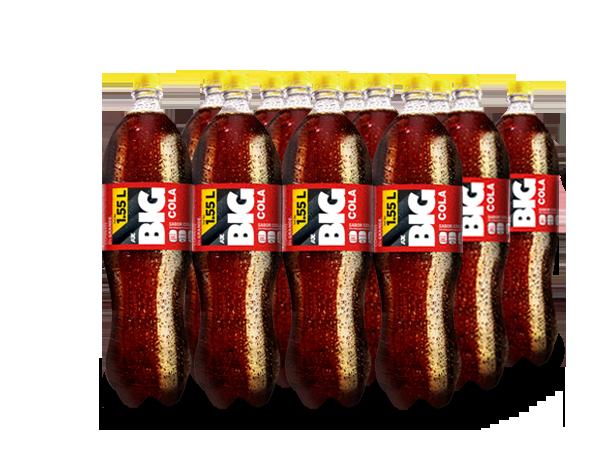BIG COLA PET NO RETORNABLE 1550 ml 12 pack