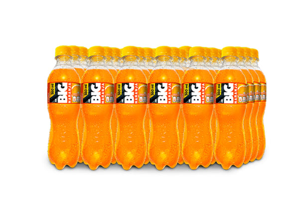 BIG NARANJA PET NO RETORNABLE 360 ml 24 pack