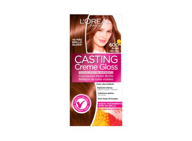 Tinte para Cabello sin amoníaco 600 Rubio Oscuro Casting Creme Gloss
