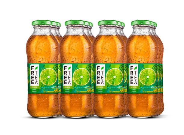 Free Tea Té verde Sabor a Limón 450ml