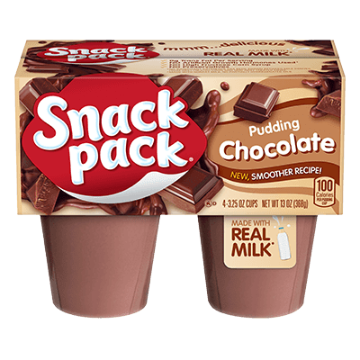 Snack Pack Pudin Chocolate