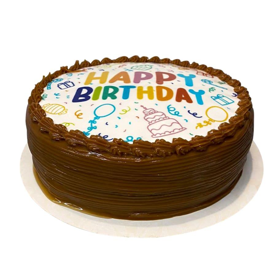 Torta Happy Birthday de Vainilla