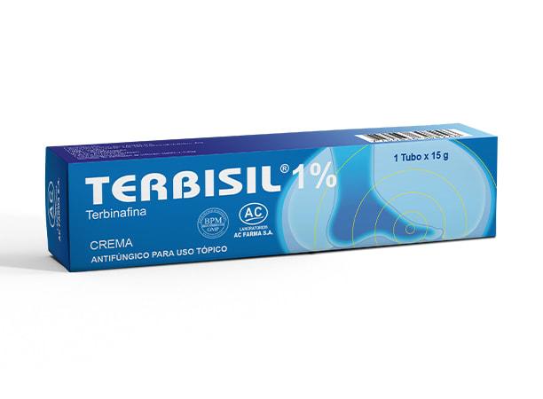 TERBISIL 1 % CREMA x 15 g - TERBINAFINA (Caja x 01 Tubo)