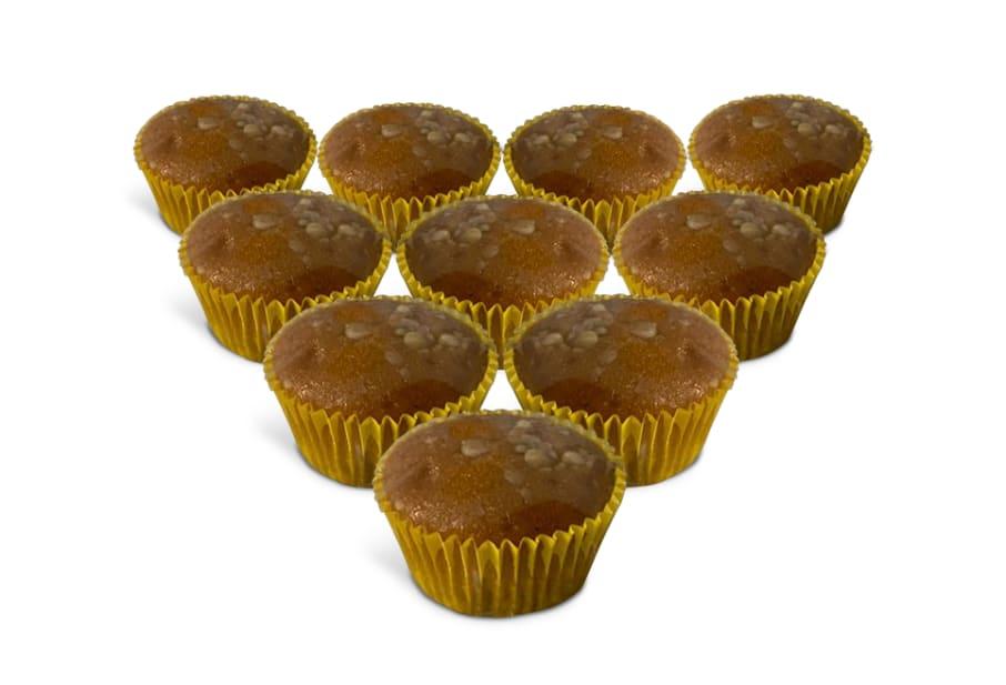 Mini Cakes de Plátano