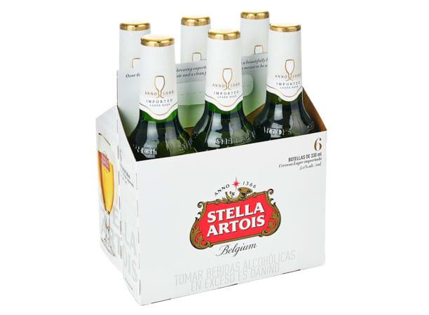 STELLA ARTOIS (SIX PACK)