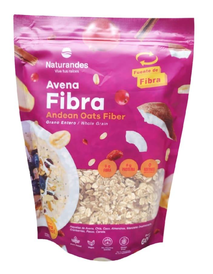 AVENA GRANO ENTERO FIBRA 600G NATURANDES