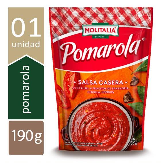 SALSA CASERA POMAROLA. 190g