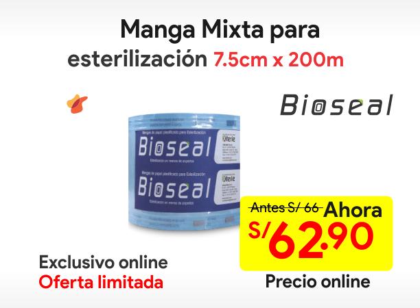 Manga mixta para esterilización 7.5x200m