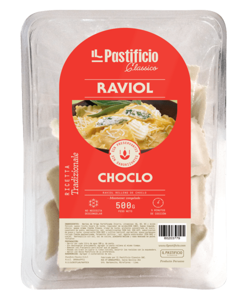 RAVIOL DE CHOCLO
