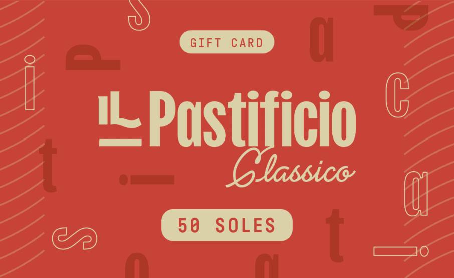 Gift card Pastificio x 50
