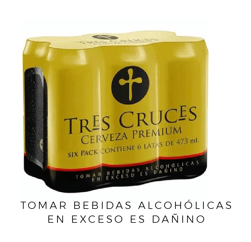 TRES CRUCES CERVEZA REGULAR LATA 473 ML 6