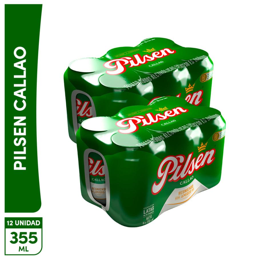 12Pack Cerveza Pilsen Lata 355ml