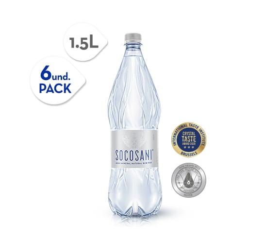 Socosani Agua mineral sin gas 1.5L