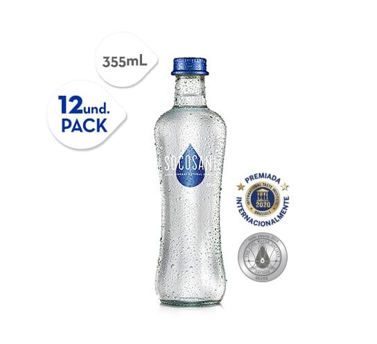 Socosani 355 ml con gas Botella Vidrio