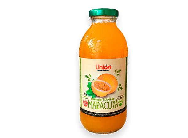 Bebida con pulpa  de maracuya 475 ml