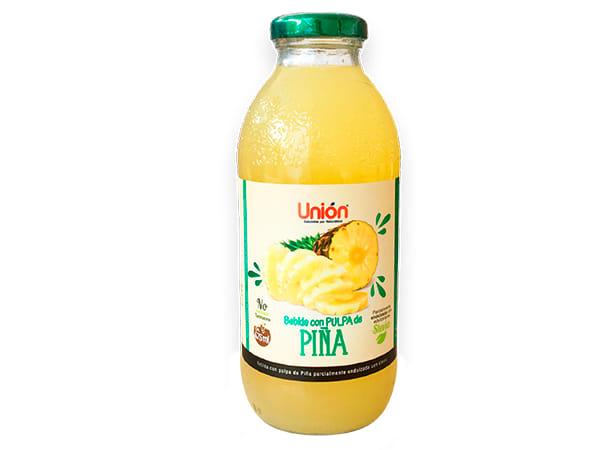 Bebida con pulpa  de piña 475 ml