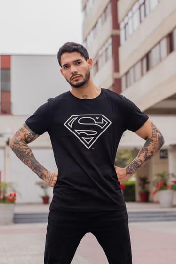 POLO HOMBRE SUPERMAN